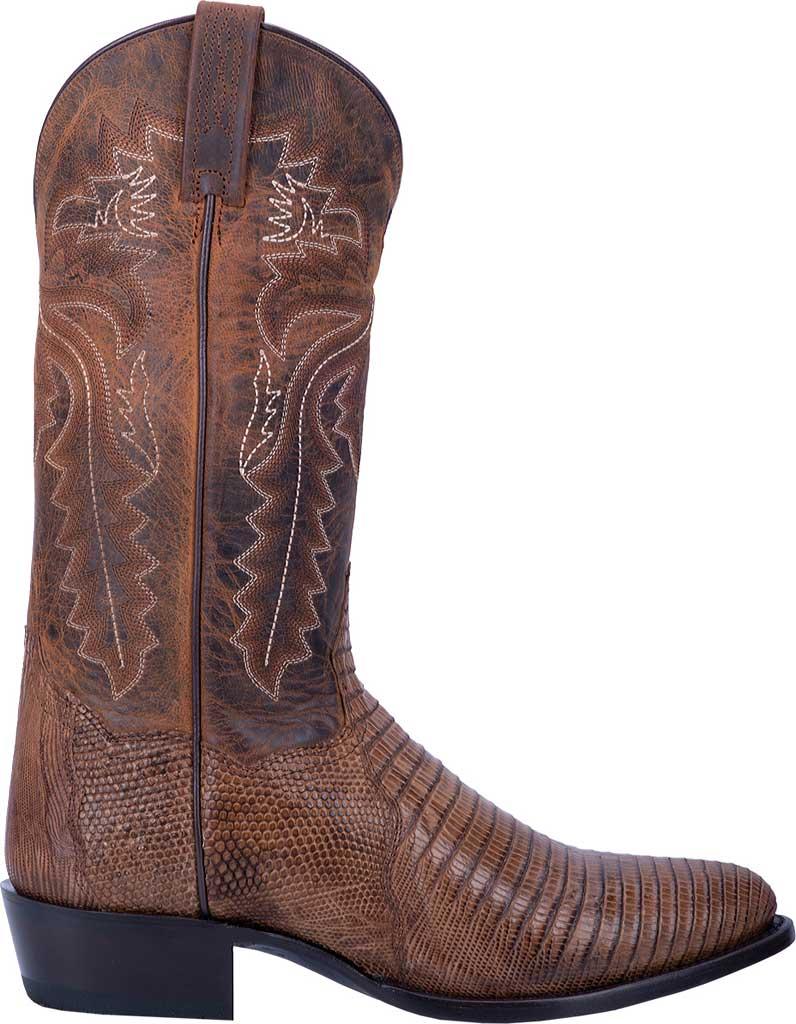 Men's Dan Post Boots Salem Exotic Cowboy Boot DP3054, Bay Apache Exotic Lizard, large, image 2