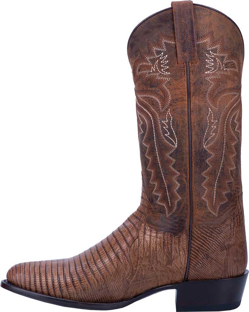 Men's Dan Post Boots Salem Exotic Cowboy Boot DP3054, Bay Apache Exotic Lizard, large, image 3