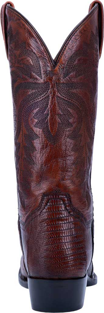 Men's Dan Post Boots Winston Exotic Cowboy Boot DP3051R, Tan Exotic Lizard, large, image 4