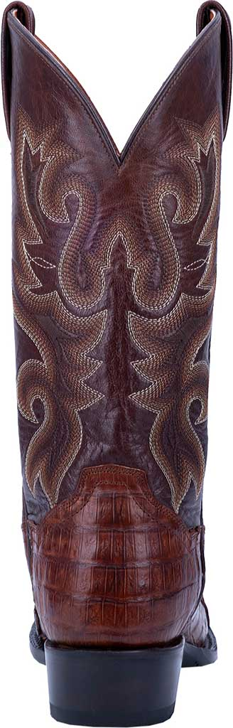 Men's Dan Post Boots Bayou Cowboy Boot DP3074, Brass Genuine Caiman Skin, large, image 4