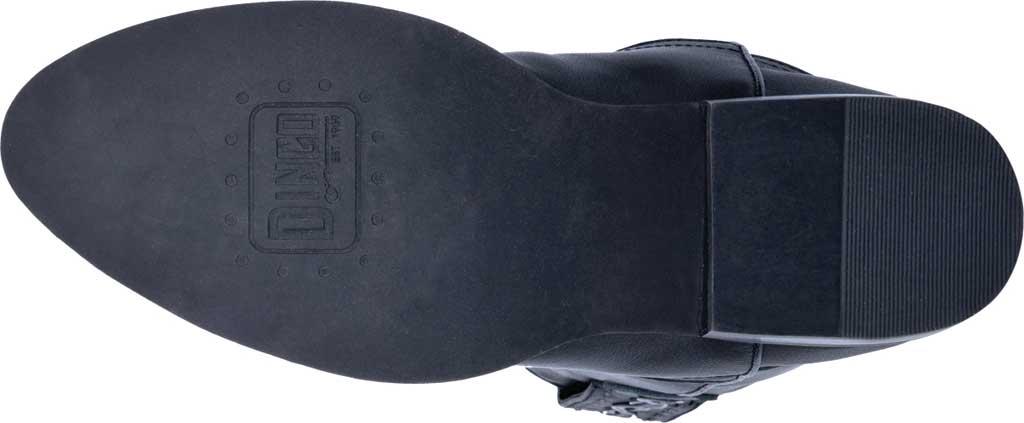 Men's Dingo Poncho Cowboy Boot DI 214, Black Leather, large, image 6