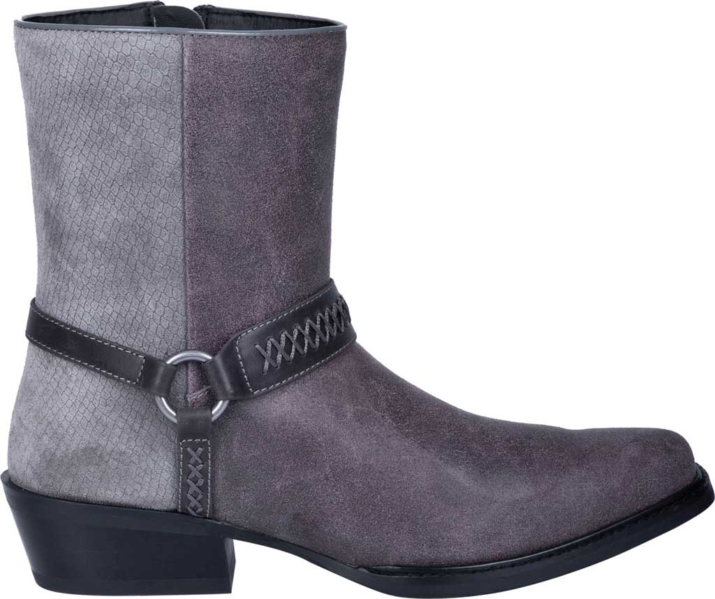 Men's Dingo Butch Harness Boot DI 219, Grey Leather, large, image 2