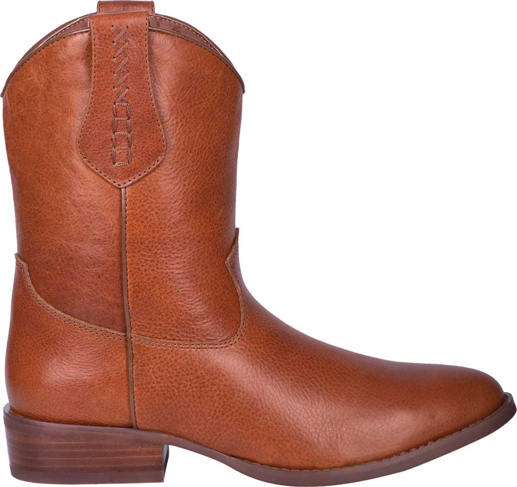 Men's Dingo Lefty Pull On Western Boot DI 212, Camel Leather, large, image 2