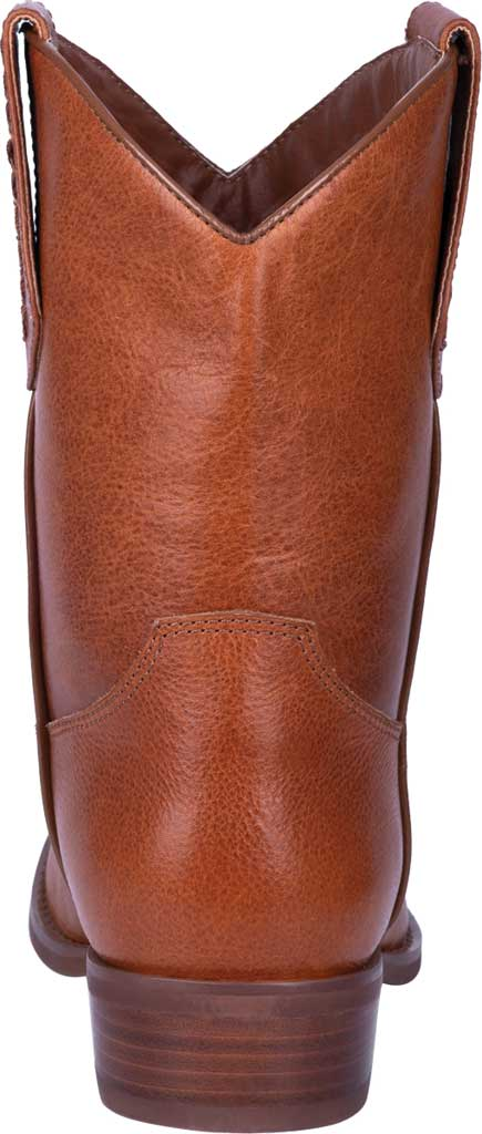 Men's Dingo Lefty Pull On Western Boot DI 212, Camel Leather, large, image 4