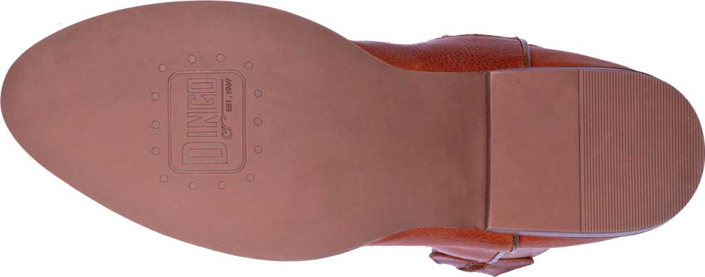 Men's Dingo Lefty Pull On Western Boot DI 212, Camel Leather, large, image 6