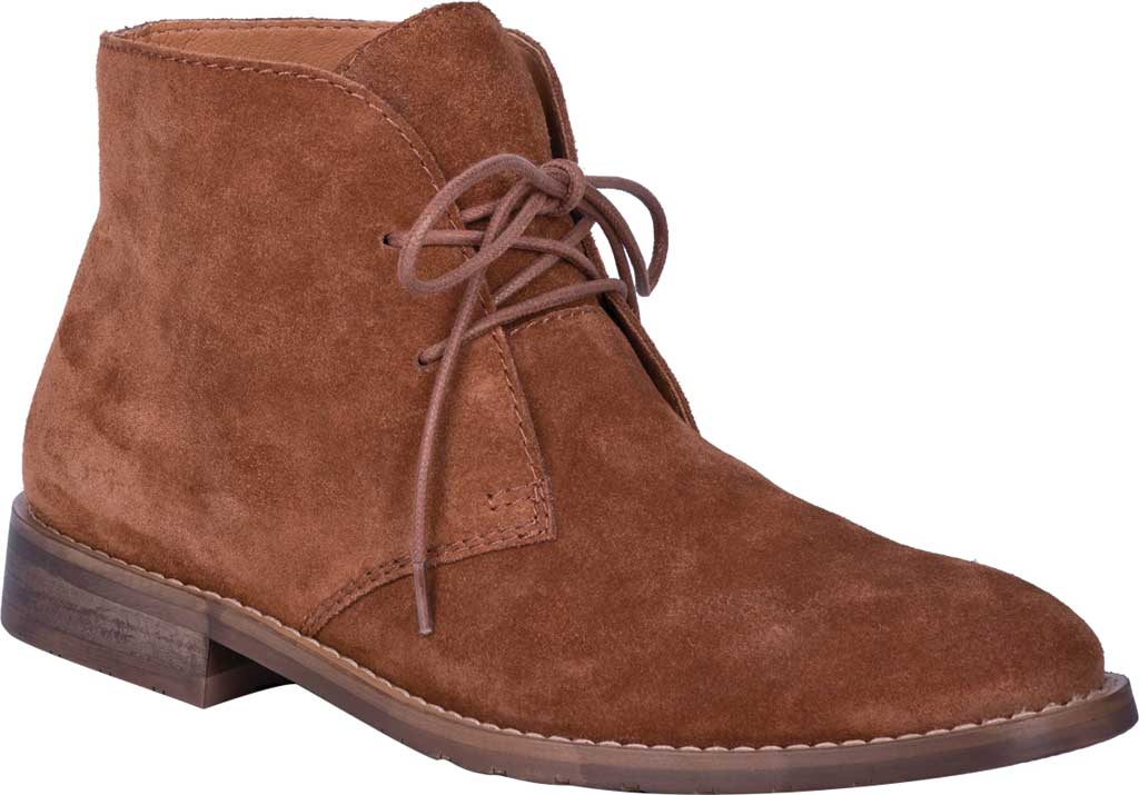 Men's Dingo Opie Chukka Boot DI 208, Whiskey Suede, large, image 1