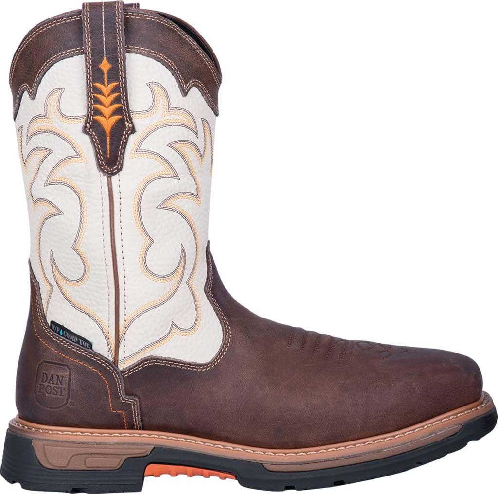 Men's Dan Post Boots Storm Tide Composite Toe Boot DP59411, Bone Waterproof Full Grain Leather, large, image 2
