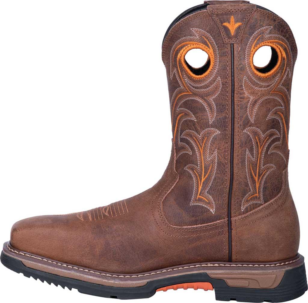 Men's Dan Post Boots Storms Eye Composite Toe Boot DP59414, Brown Waterproof Full Grain Leather, large, image 3