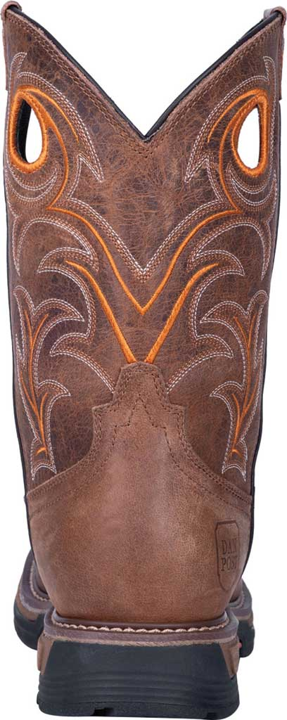 Men's Dan Post Boots Storms Eye Composite Toe Boot DP59414, Brown Waterproof Full Grain Leather, large, image 4