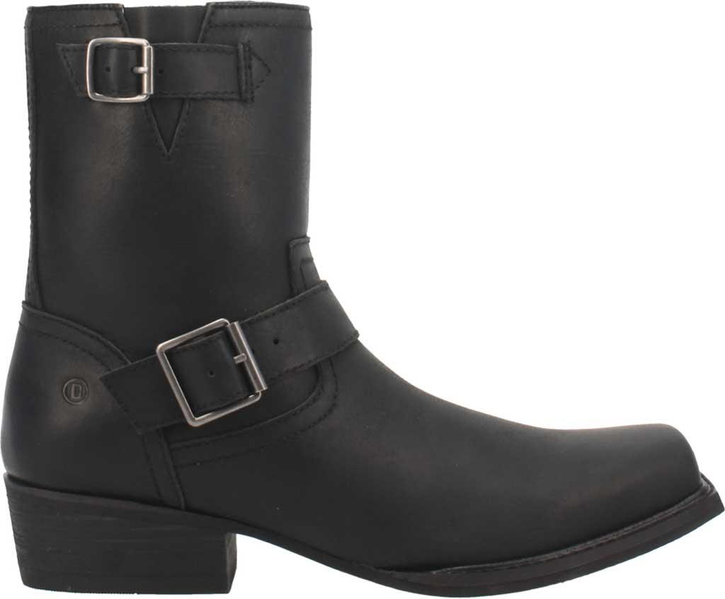 Men's Dingo Hackett DI 293 Biker Boot, Black Leather, large, image 2