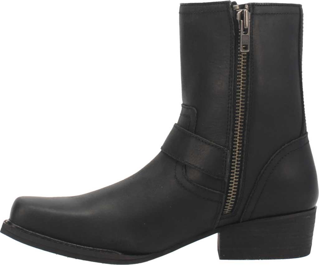 Men's Dingo Hackett DI 293 Biker Boot, Black Leather, large, image 3