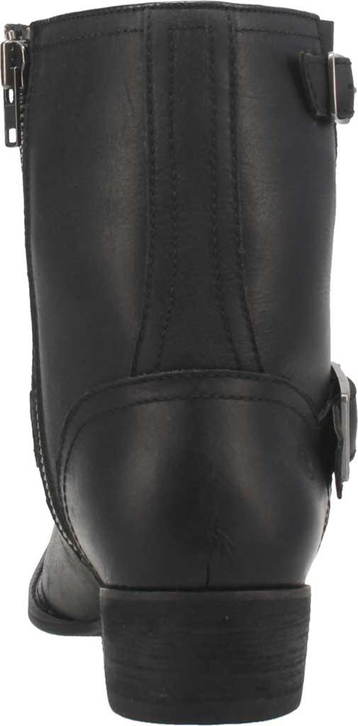 Men's Dingo Hackett DI 293 Biker Boot, Black Leather, large, image 4