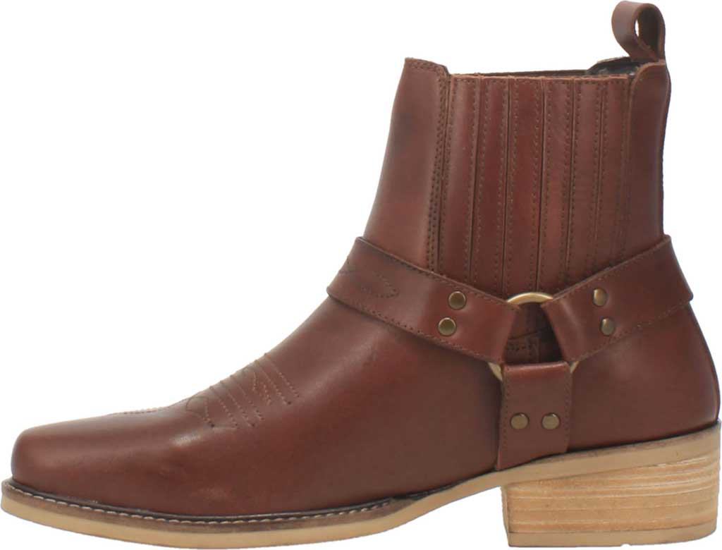 Men's Dingo Black Bart DI 282 Harness Boot, Brown Leather, large, image 3