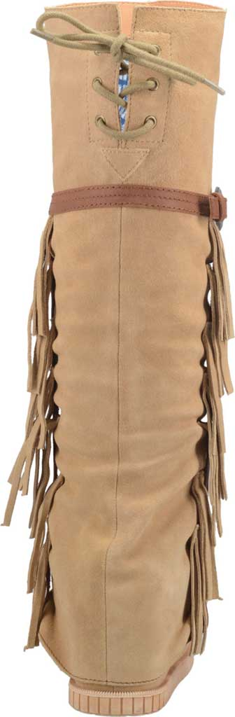 Women's Dingo Caddo DI 229 Tall Moccasin Boot, Natural Leather, large, image 4