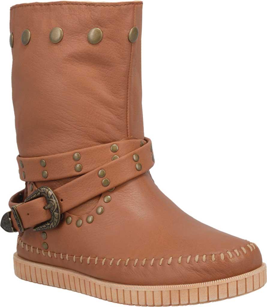 Women's Dingo Malibu DI 158 Pull on Boot, Whiskey Leather, large, image 1