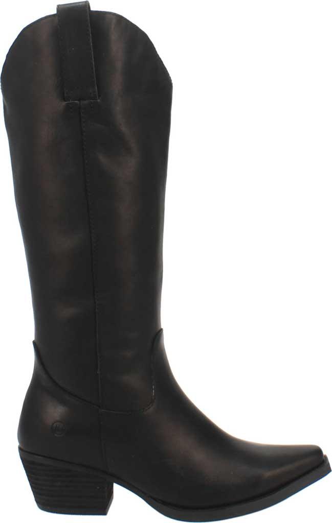 Women's Dingo Bonanza DI 257 Tall Western Boot, Black Burnished Leather, large, image 2