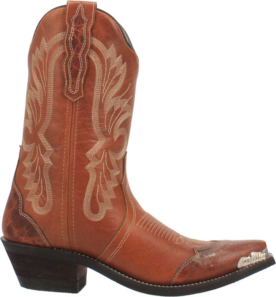 Women's Laredo Vonnie Cowgirl Boot 52351, Tan Leather, large, image 2