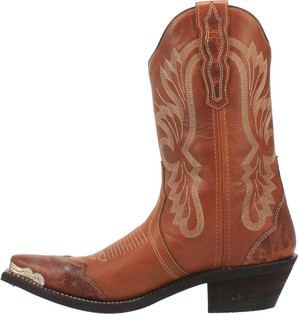 Women's Laredo Vonnie Cowgirl Boot 52351, Tan Leather, large, image 3