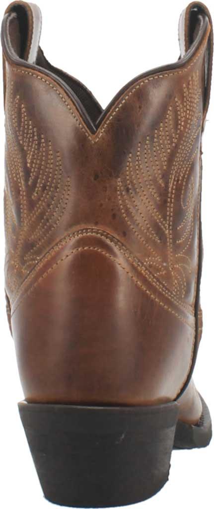 Women's Laredo Tori Cowgirl Boot 51044, Tan/Green Distressed Leather, large, image 4
