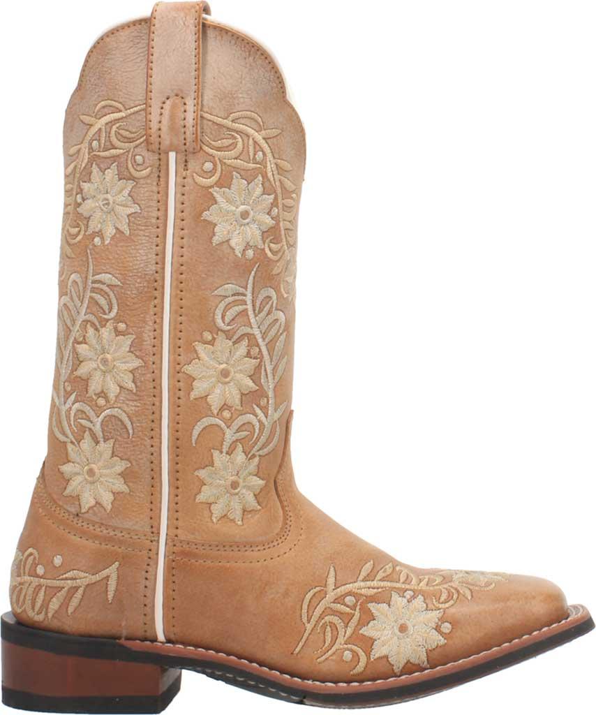 Women's Laredo Sybil Cowboy Boot 5870, Tan Leather, large, image 2