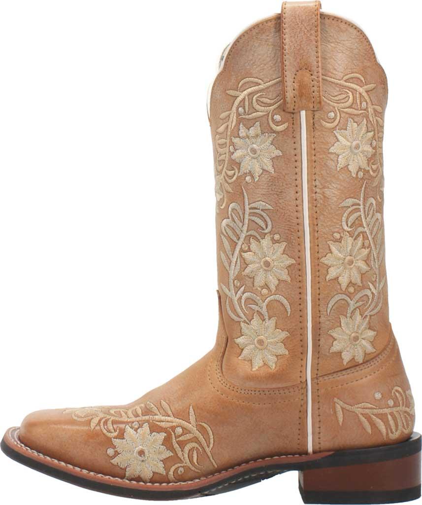 Women's Laredo Sybil Cowboy Boot 5870, Tan Leather, large, image 3
