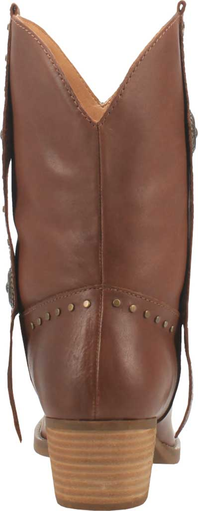 Women's Dingo True West Cowgirl Boot, Brown Leather, large, image 4