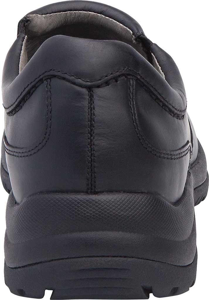 Men's Dansko Wynn Slip On, Black Smooth, large, image 4