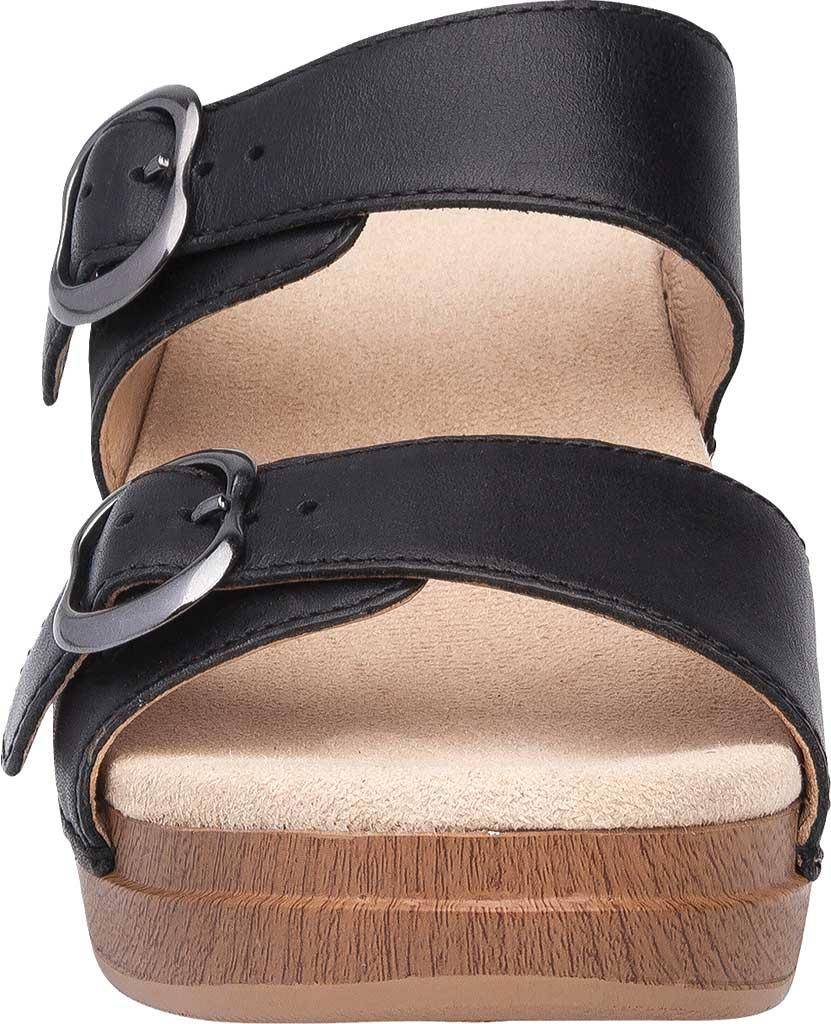 Women's Dansko Sophie Sandal, Blue Burnished Milled Leather, large, image 4
