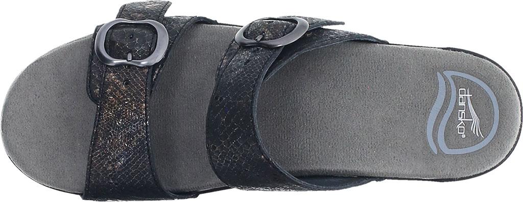 Women's Dansko Sophie Sandal, Metallic Python Leather, large, image 3