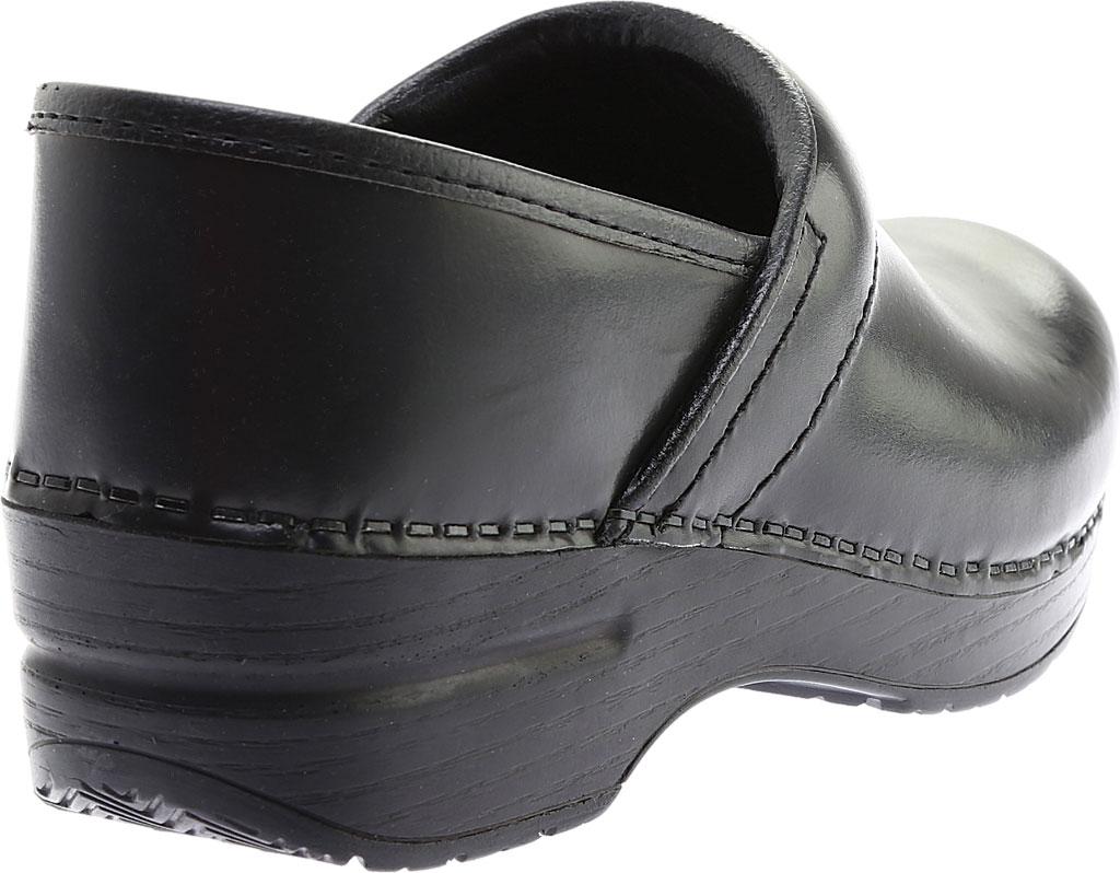 Women's Dansko Professional Clog, Black Cabrio, large, image 4