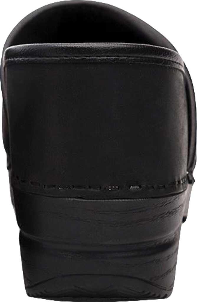 Women's Dansko Professional Clog, Black Oiled, large, image 4