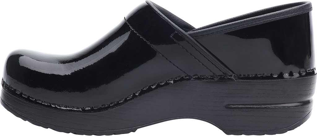 Women's Dansko Professional Clog, Black Patent Leather, large, image 2
