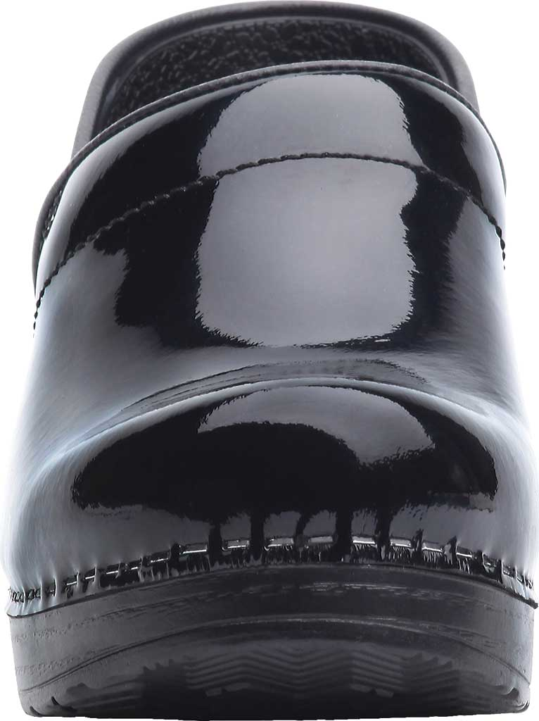 Women's Dansko Professional Clog, Black Patent Leather, large, image 3