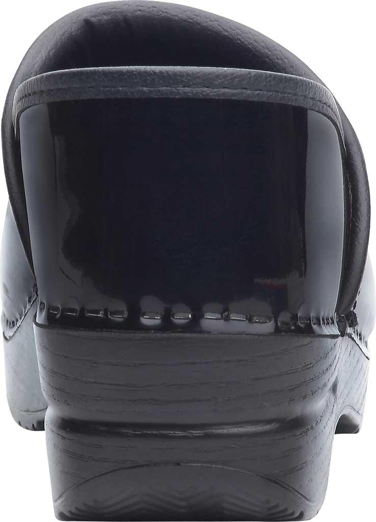 Women's Dansko Professional Clog, Black Patent Leather, large, image 4