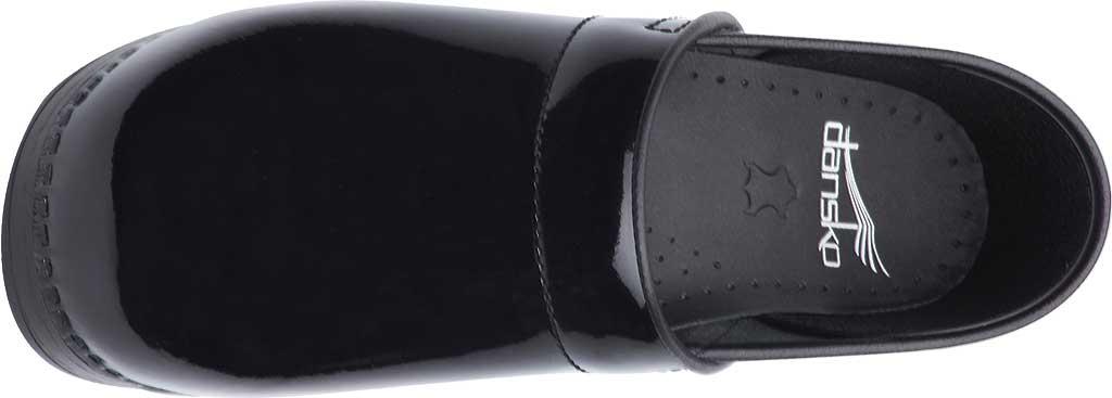 Women's Dansko Professional Clog, Black Patent Leather, large, image 5