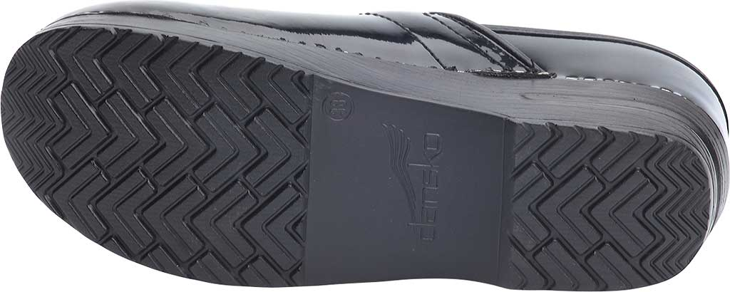 Women's Dansko Professional Clog, Black Patent Leather, large, image 6