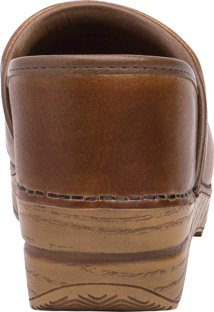 Women's Dansko Professional Clog, Honey Distressed Leather, large, image 4