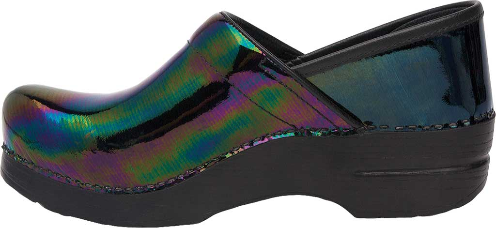 Women's Dansko Professional Clog, Petrol Patent Leather, large, image 2