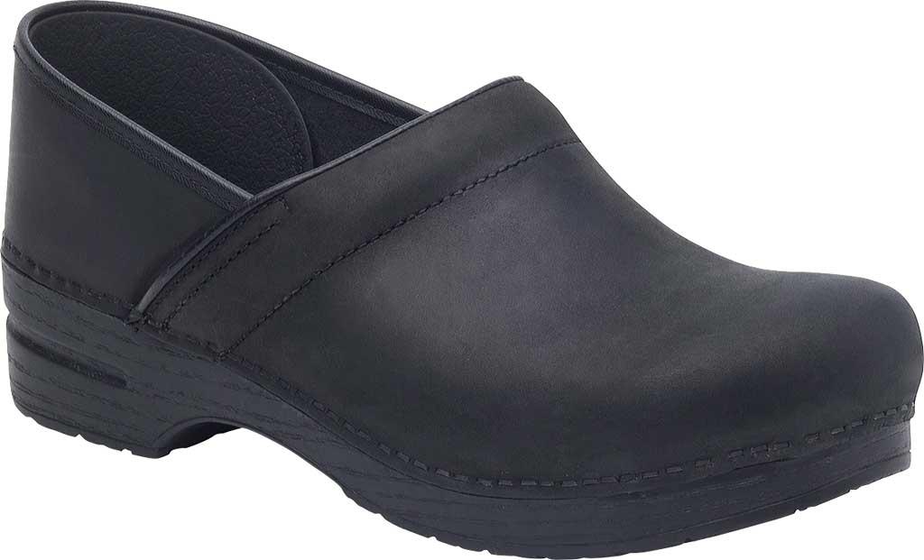 Men's Dansko Professional Clog, Black Oiled, large, image 1