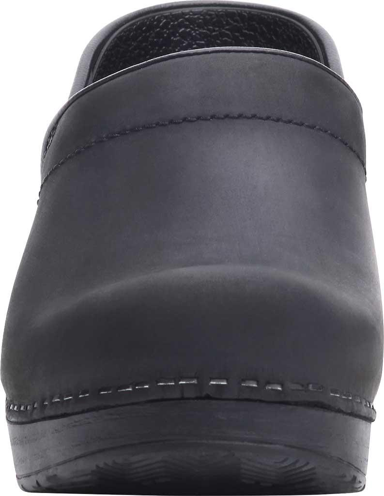Men's Dansko Professional Clog, Black Oiled, large, image 3
