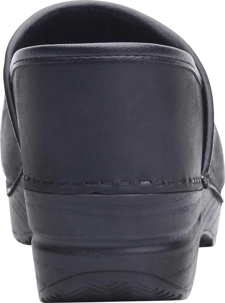 Men's Dansko Professional Clog, Black Oiled, large, image 4