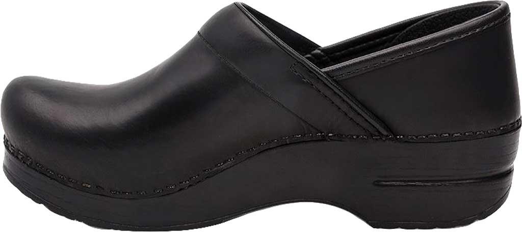 Men's Dansko Professional Clog, Black Cabrio Leather, large, image 3