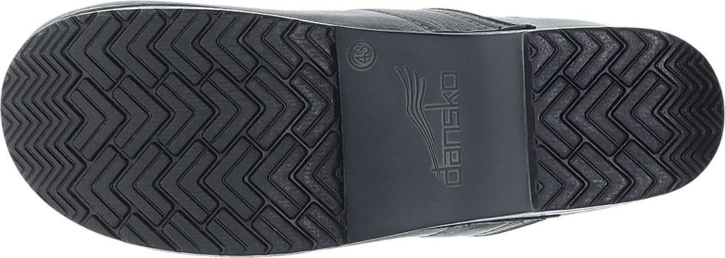 Men's Dansko Professional Clog, Charcoal Distressed Leather, large, image 4