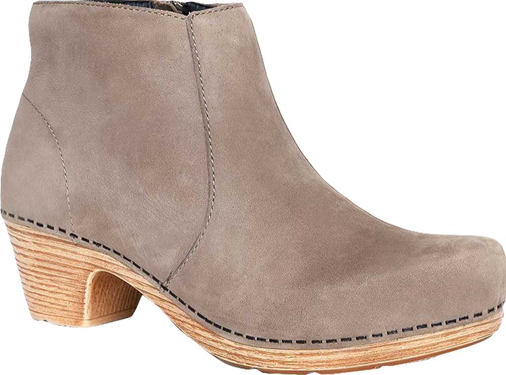 Women's Dansko Maria Ankle Boot, Taupe Milled Nubuck, large, image 1