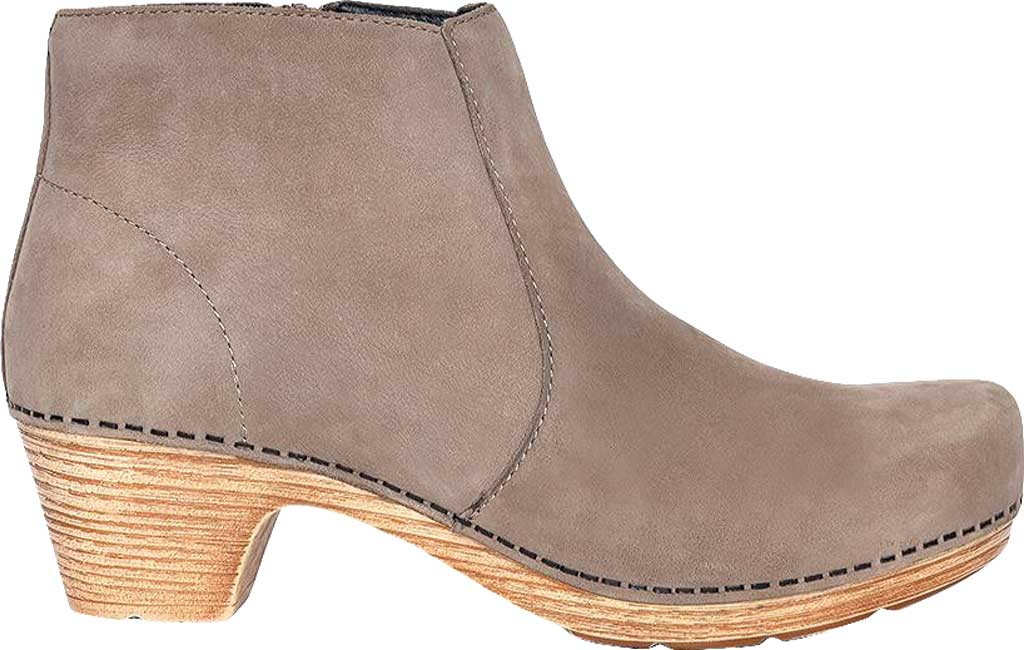 Women's Dansko Maria Ankle Boot, Taupe Milled Nubuck, large, image 2