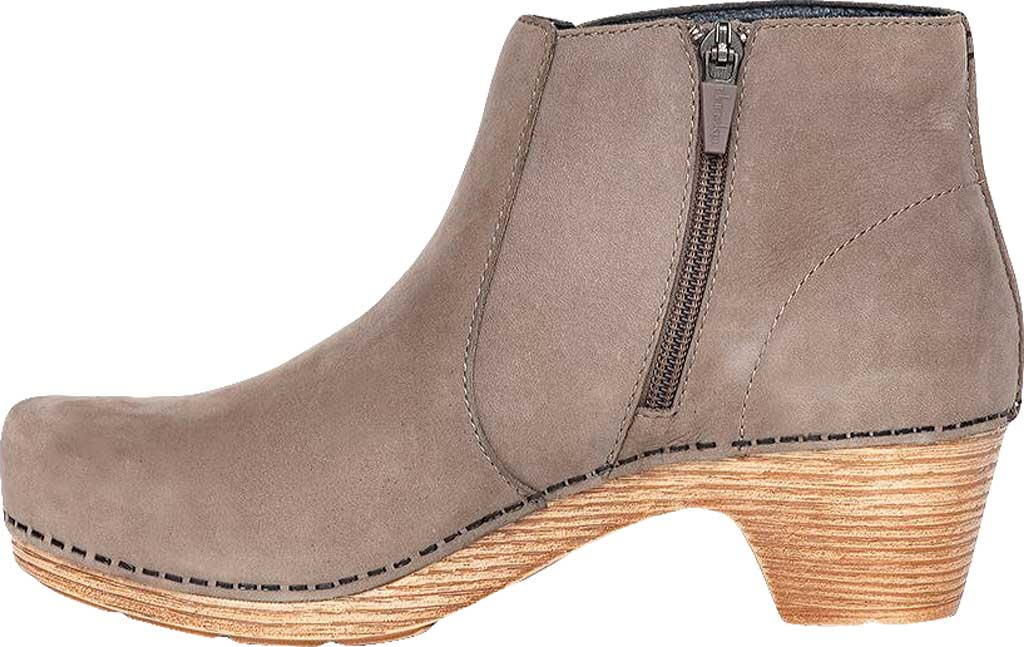 Women's Dansko Maria Ankle Boot, Taupe Milled Nubuck, large, image 3