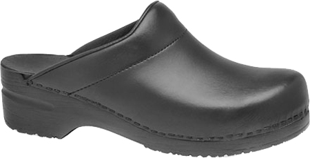 Men's Dansko Karl Clog, Black Box Leather, large, image 1