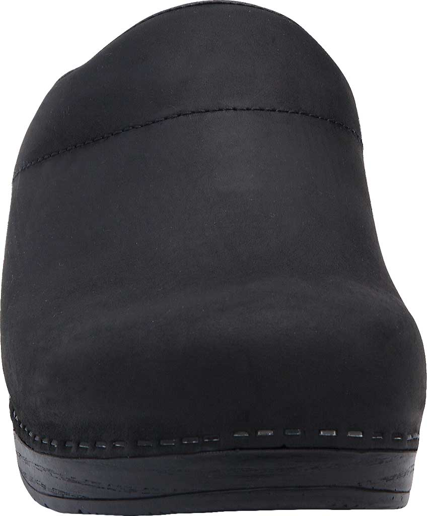 Men's Dansko Karl Clog, Black Box Leather, large, image 4