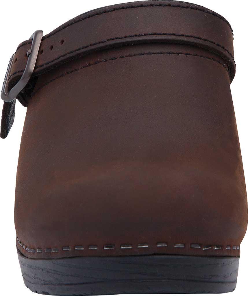 Women's Dansko Ingrid Slingback, Antique Brown Oiled Leather, large, image 4