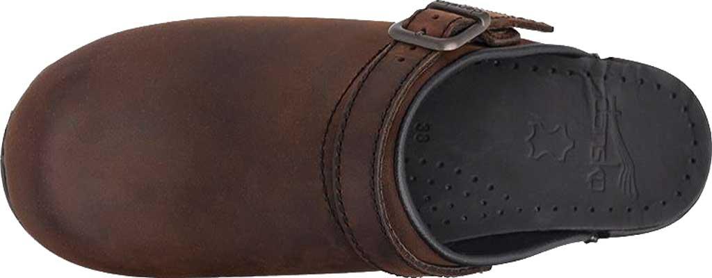 Women's Dansko Ingrid Slingback, Antique Brown Oiled Leather, large, image 6
